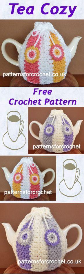 Free crochet pattern for Tea-Cozy. #crochet
