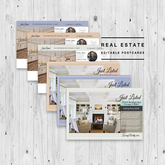 Real Estate Postcard Agent Marketing