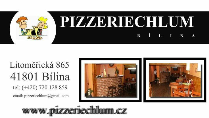 Super pizzerie v Bílině 😉 www.pizzeriechlum.cz