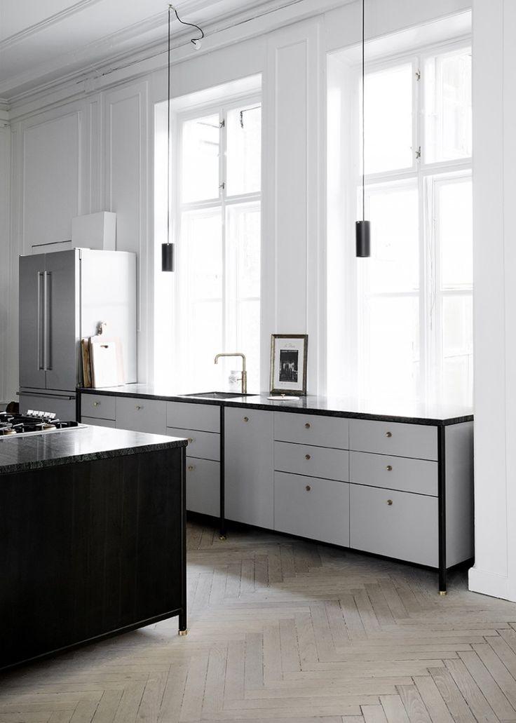 Best Nordic Grey Kitchen By Kbh Industrial Style Kitchen 640 x 480