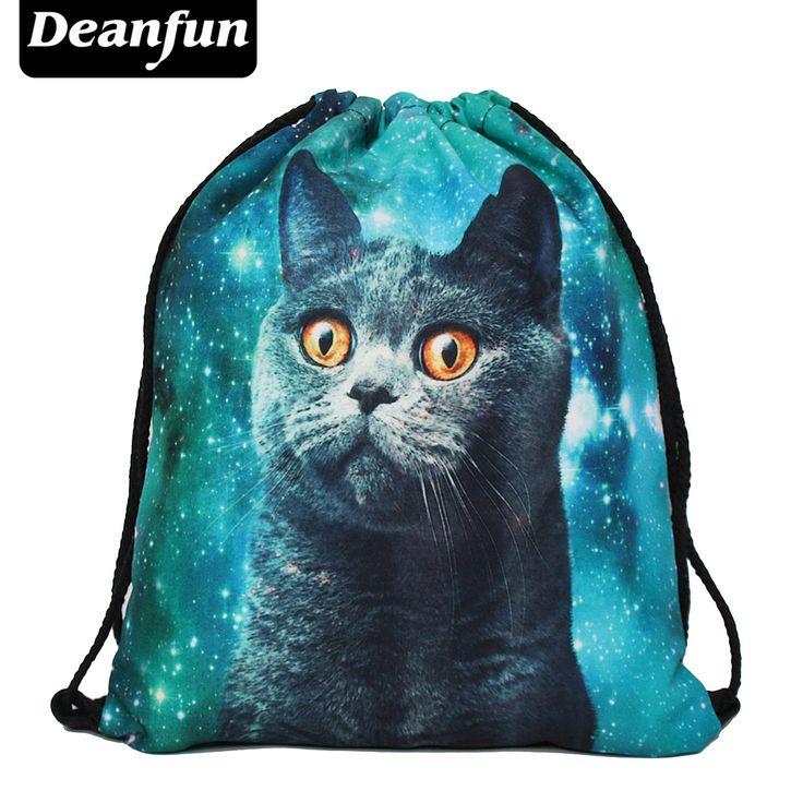 $2.99 (Buy here: https://alitems.com/g/1e8d114494ebda23ff8b16525dc3e8/?i=5&ulp=https%3A%2F%2Fwww.aliexpress.com%2Fitem%2FDeanfun-2016-women-backpack-printing-bag-for-picnic-mochila-feminina-harajuku-drawstring-bag-mens-backpacks-blue%2F32750313810.html ) Deanfun 2016 women backpack printing bag for picnic mochila feminina harajuku drawstring bag mens backpacks blue cat for just $2.99