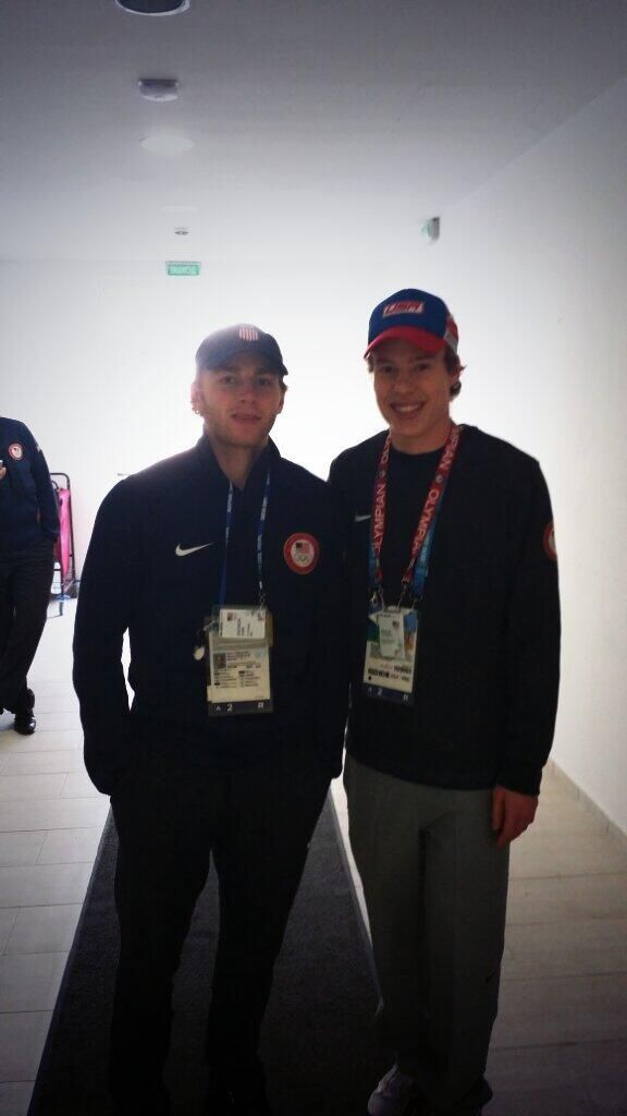 Brian Hansen finally found Kane! He's 10 for 10 with the Blackhawks Olympians