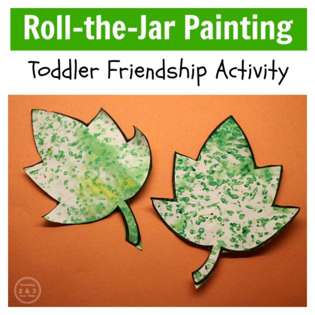 Easy Toddler Friendship Art
