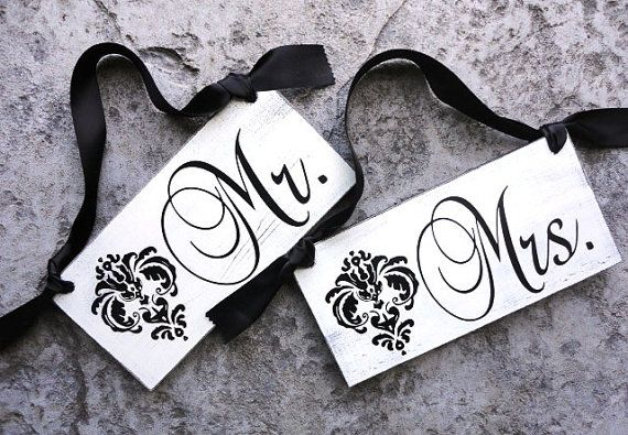128 Best Bride/Groom Chair Signs Images On Pinterest