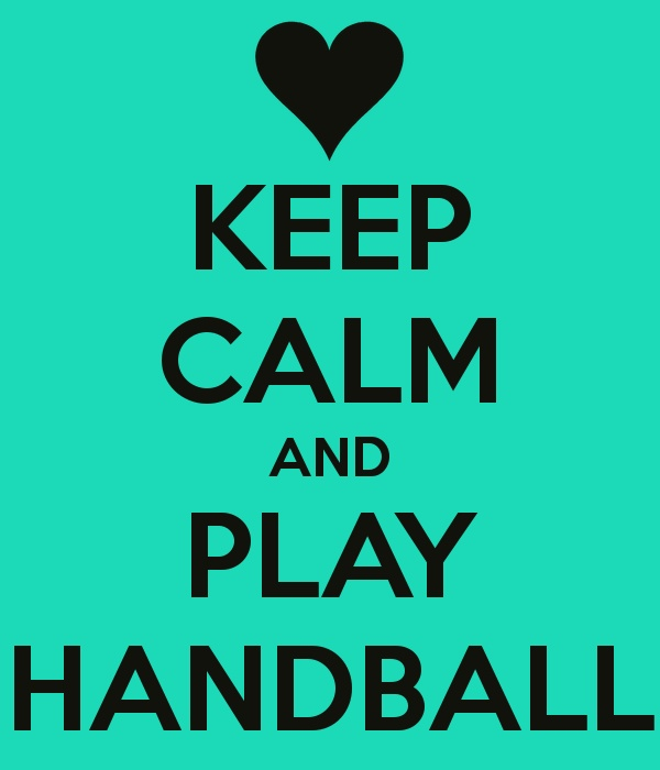 Keep Calm and Play Handball