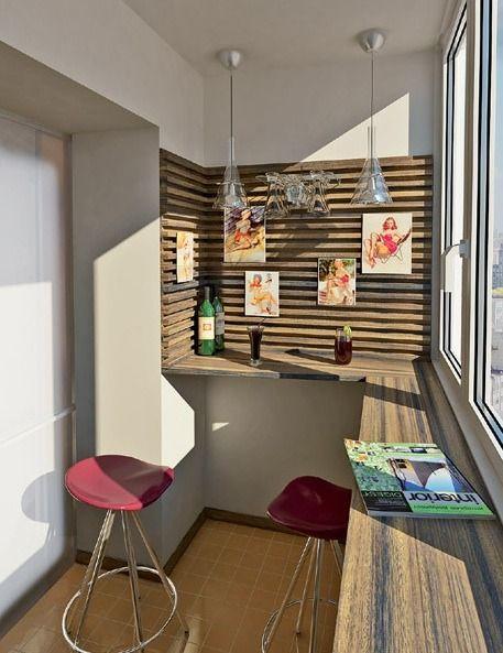 Фотография: Балкон, Терраса в стиле Современный, Интерьер комнат, Барная стойка, место для отдыха, интерьер внешнего пространства, кальянная – фото на InMyRoom.ru