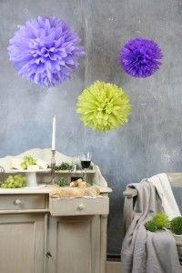 Zestaw pomponów: Lavender Fields