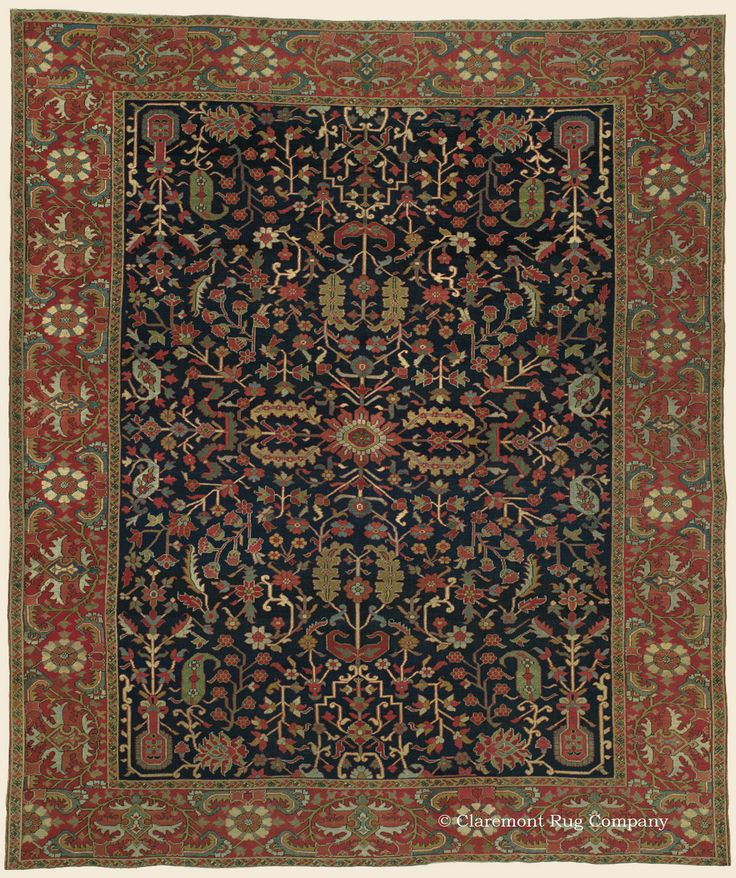 94 Best Antique Persian Serapi Rugs Images On Pinterest