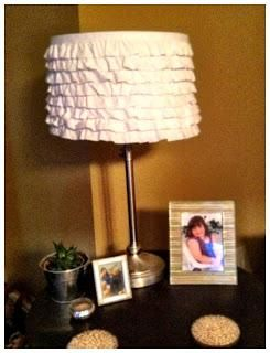 DIY Ruffle : DIY Ruffle Lamp Shade    :   DIY Crafts