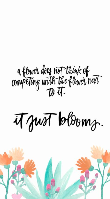 High Quality Inspiring Quotes About Life : QUOTATION U2013 Image : Quotes Of The Day U2013  Description A Flower Is Not Competingu2026 It Just Blooms Sharing Is Power U2013  Donu0027t Forget ...