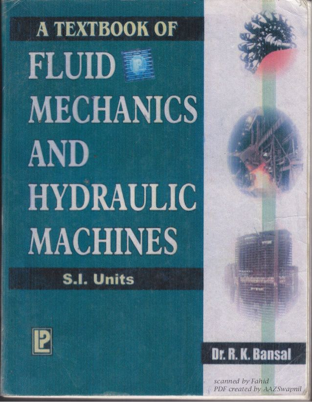 fluid mechanics by rk bansal pdf