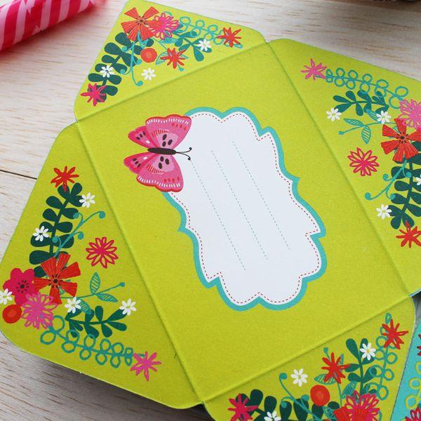 Detalles hojas Block pequeño mariposas. Cómpralo en www.hojas.com.co