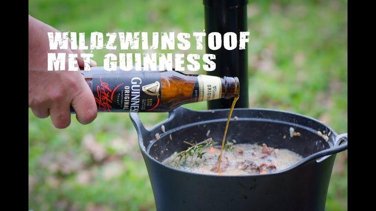 Wildzwijnstoof met Guinness | Fire&Food TV