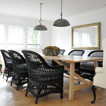Wicker Captain Dining Chairs Design Ideas (With images ...