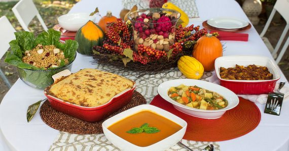 Forks Over Knives Plant Based Thanksgiving 570x299 Recipes for a Plant Based Thanksgiving 2013