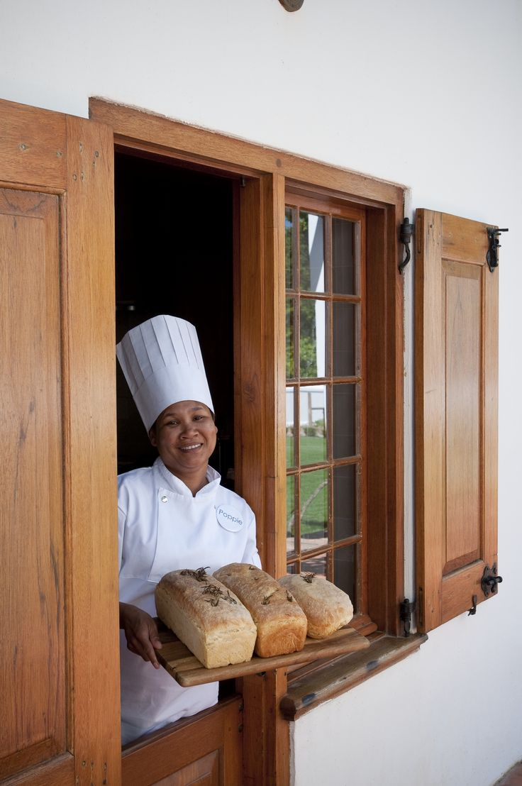 Freshly baked #bread made onsite from their clay ovens. #GourmetAfrica #Foodie #Babylonstoren