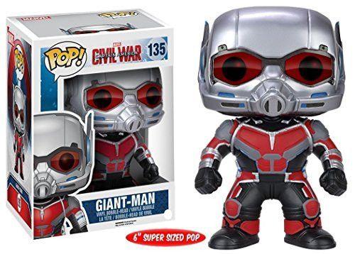 "POP Marvel: Captain America 3: Civil War - 6"" Giant Man Action Figure"