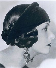 Natacha Rambova - Costume Designer and former wife of Rudolph Valentino.  She created many of the costumes for Valentino's movies.