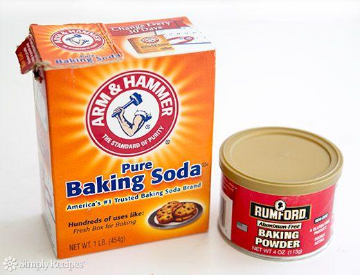 Baking Soda Baking Powder Difference