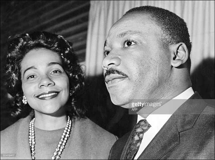 Coretta Scott King and her husband Martin Luther King 09 December 1964 in Oslo where the US clergyman and civil rights leader received 10 December the Nobel Peace Prize. Martin Luther King was assassinated on 04 April 1968 in Memphis, Tennessee. James Earl Ray confessed to shooting King and was sentenced to 99 years in prison. King's killing sent shock waves through American society at the time, and is still regarded as a landmark event in recent US history.