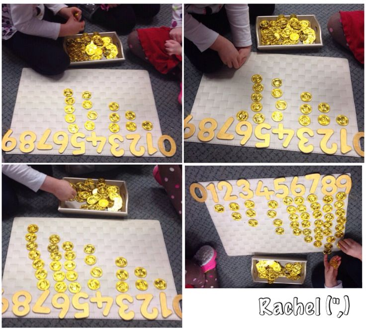 Counting Treasure (from Stimulating Learning with Rachel)