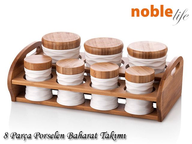 Noble Life Bridge Bambu N6401 Baharatlık (8 Parça) ::