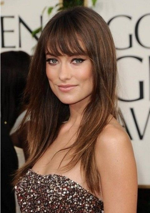 how to cut wispy bangs yourself