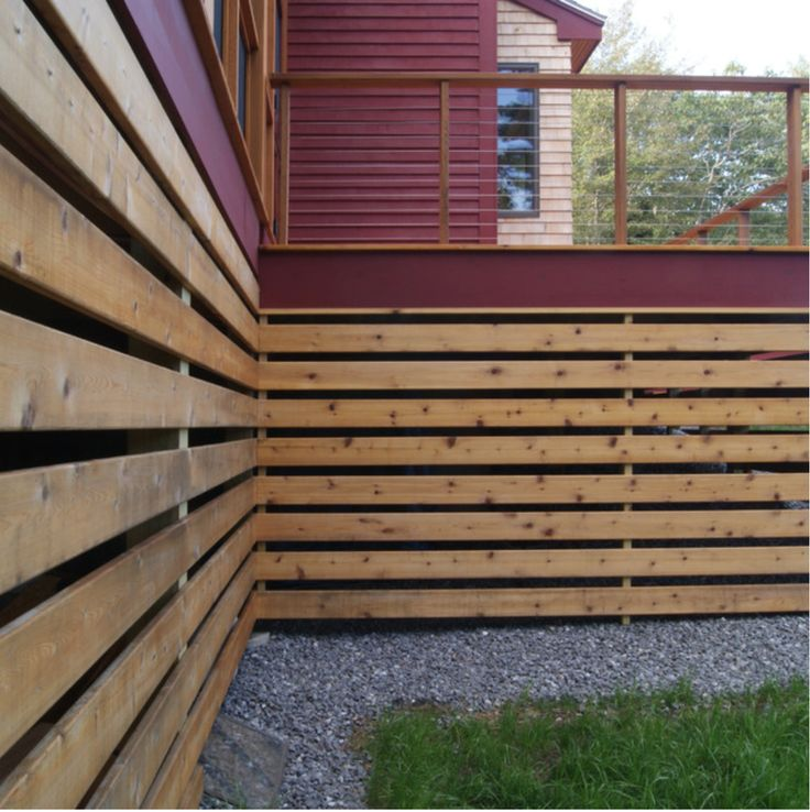 Pin by Stuart High on back porch Deck skirting, Building