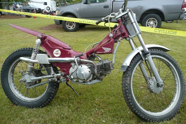 Progress is fine, but it's gone on for too long.: Honda Trail 90 Trials