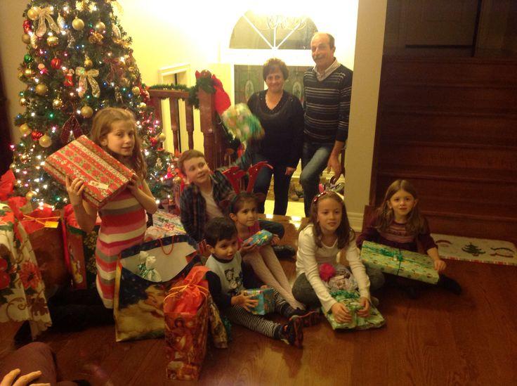 Christmas at Nona' s house 2015
