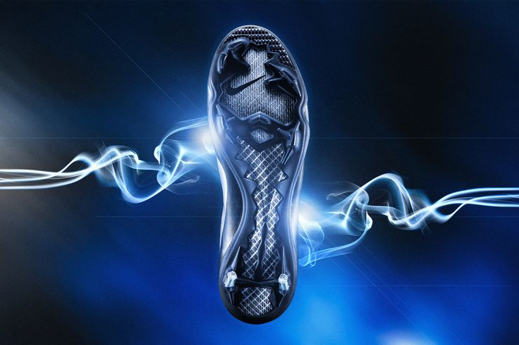#commercial #photography #shoes #football #soccer #smoke #dynamic #space #nike #mercurial #vapor