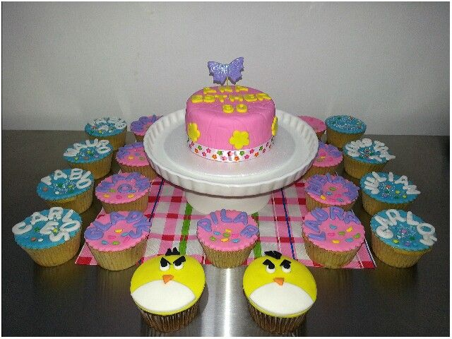 Cake..and cupcakes....