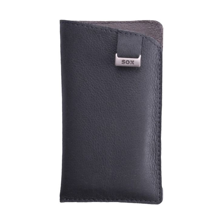 SOX Leather Light Case [Grey], Uniwersalna wsuwka na smartfon