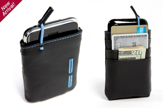 combine a wallet and an iPhone case and you get the iMojito (lame name, cool product)