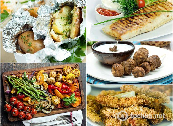 костра Рецепты и для пикника