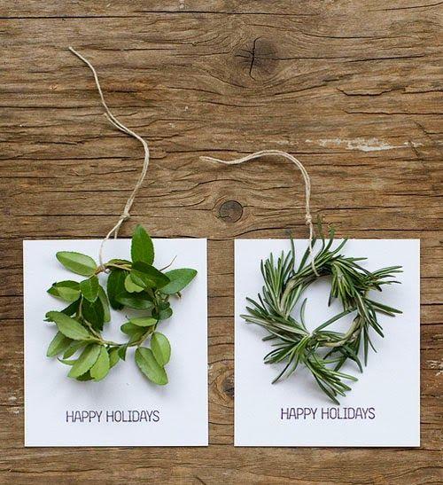 Különleges, kézzel készített karácsonyi lapok