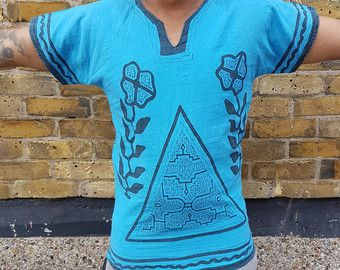 Handmade Shipibo ceremony shirt, featuring Ayahuasca and Icaros in Quechuan. The ancient language of the Shipibo people.  https://www.etsy.com/uk/listing/470128407/shipibo-ceremony-handmade-shirt