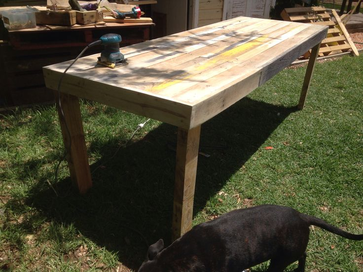 Custom dinning table almost done