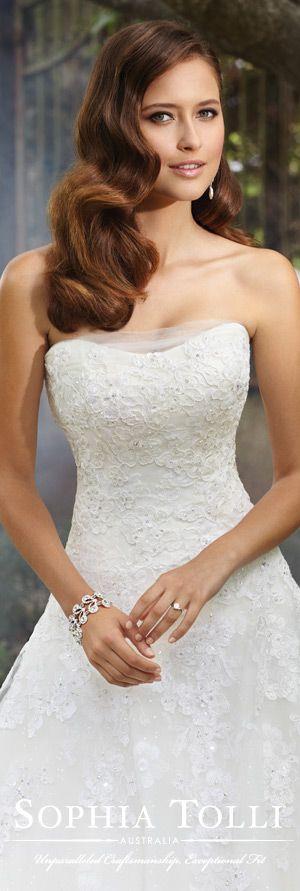 173 besten Sophia Tolli Bilder auf Pinterest | Hochzeitskleider ...