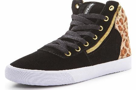 Supra A-Morir Cuttler Ladies Hi-Top Supra Hi-top Ladies Trainers with Leopard Print Detail These hi-top trainers by Supra mix urban skater style with edgy fashion cool for a look thats not out of place whether youre hitting the skate pa http://www.comparestoreprices.co.uk//supra-a-morir-cuttler-ladies-hi-top.asp