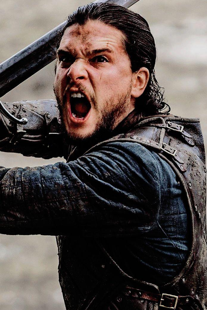 """ohmykitharington: """"Jon Snow dans"""" The Battle of the Bastards """""""""""