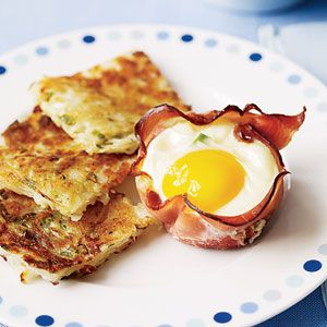 Breakfast Recipes: Ham and Egg Breakfast Cups with Hash Browns
