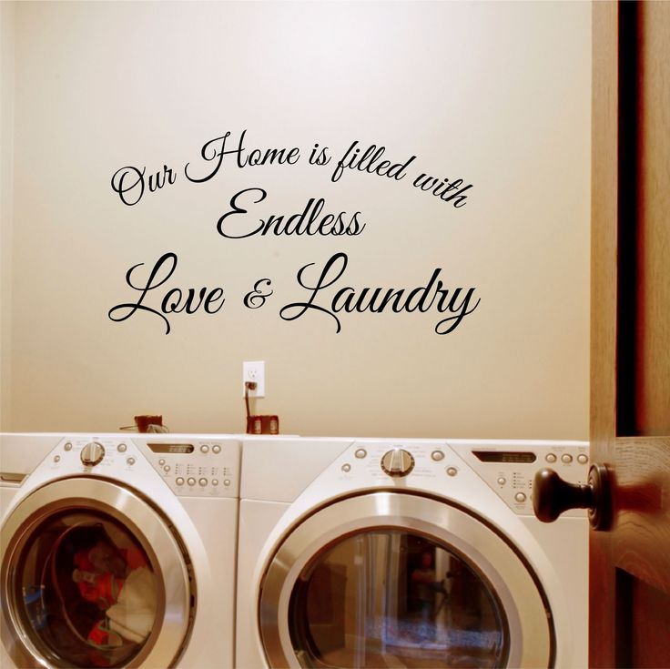 Laundry Wall Decor 11 best laundry wall decals images on pinterest | vinyl lettering