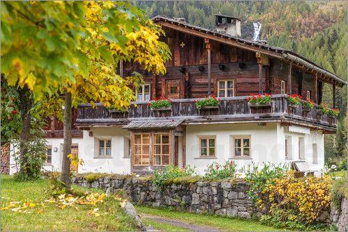 Christian Müringer - Altes Bauernhaus in Kasern, im hinteren Ahrntal (Südtirol, Italien)