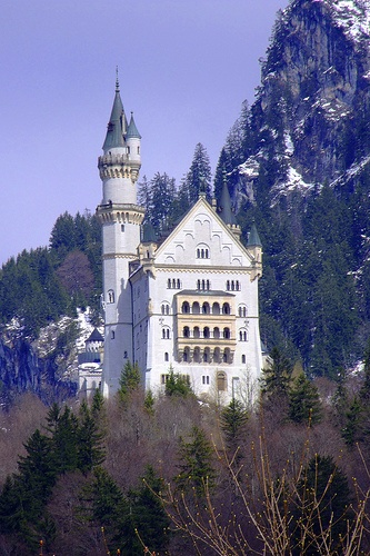 Schloß Neuschwanstein is the most photographed building in Germany and one of the most famous castles in the world. It features very beautiful interiors and stunning views of the Alpsee Lake and Schloß Hohenschwangau.