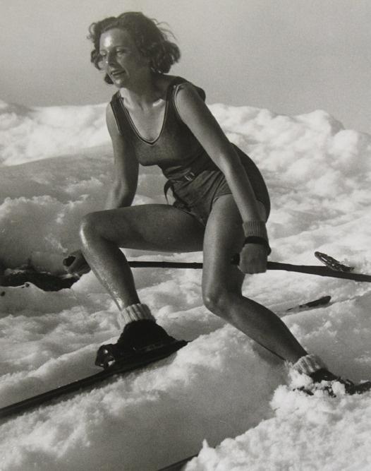Martin Munkacsi, Leni Riefenstahl, 1931 Courtesy Howard Greenberg Gallery