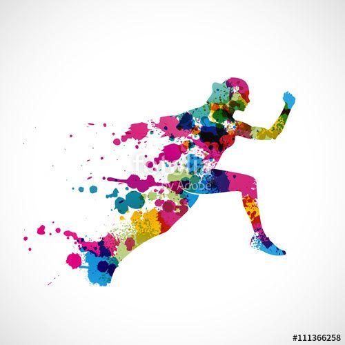 Wektor: course à pied