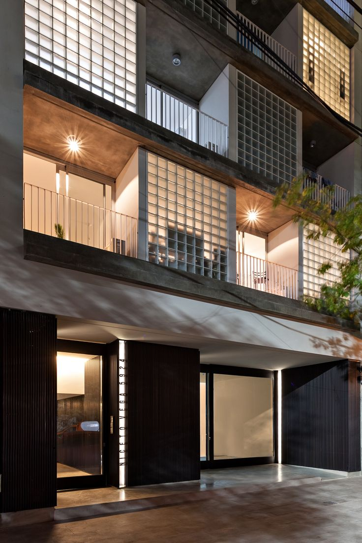 Best Habitacional Trending Ideas On Pinterest Fachada De - Modern apartment design exterior