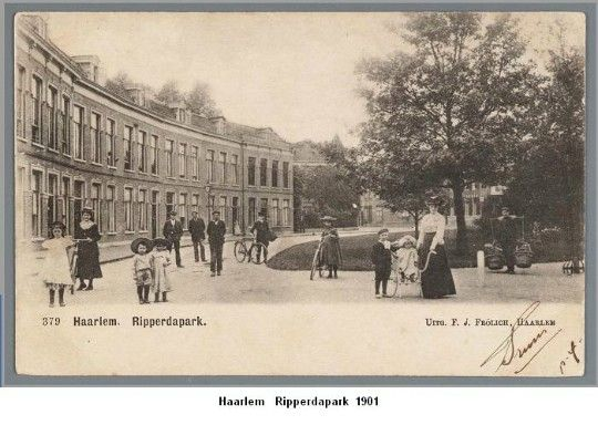 Ripperdapark te Haarlem