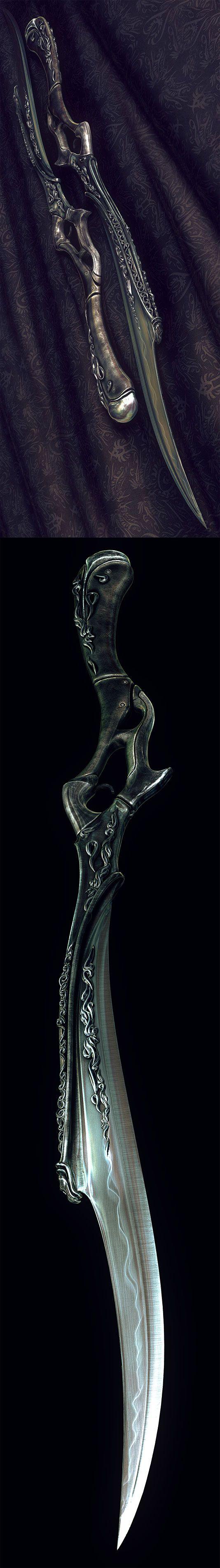 Darkness concept XVIII by Wen-JR.deviantart.com - that's a Josera weapon, all the way, wow